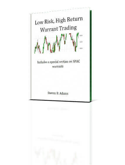 Our eBook Detailing Profitable Warrant Trading Strategies